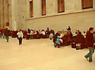 British Museum Great Court Cafeteria