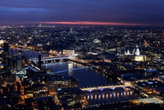 Elle Field - The View from The Shard St Paul's